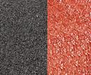 普通沥青路面VS彩色路面